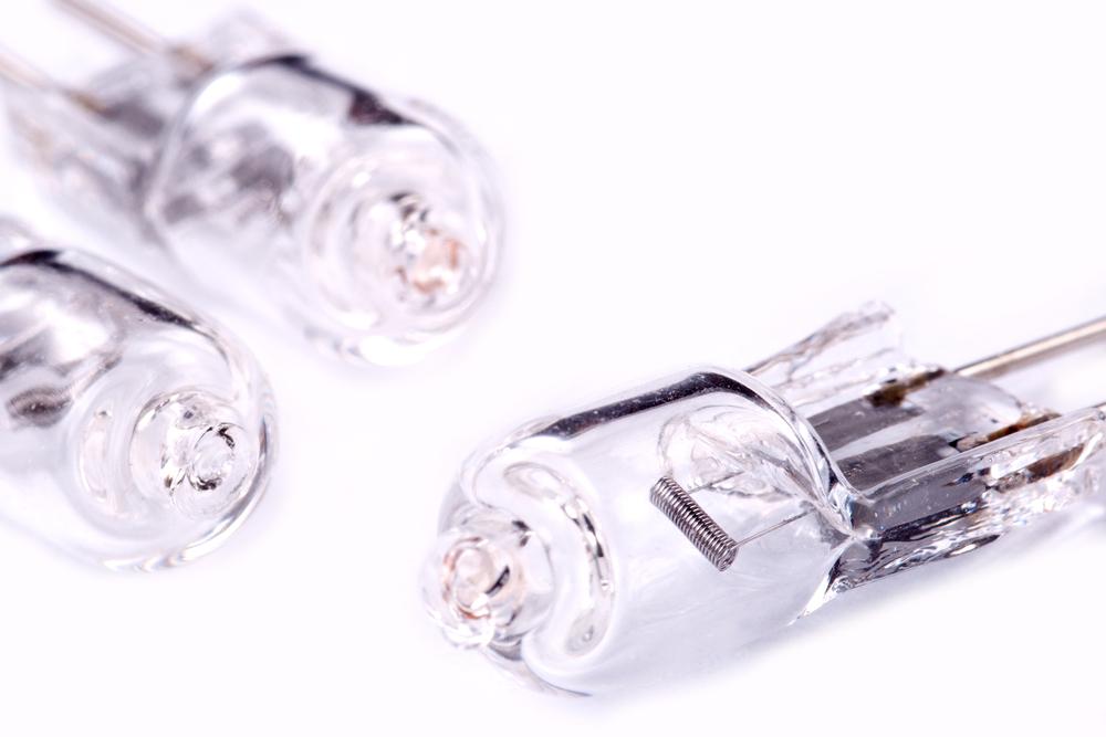 Heißes Ding: Wenn sie leuchtet, lassen Sie besser die Finger von einer Halogenlampe.