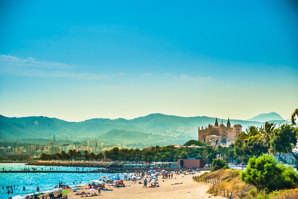 Palma de Mallorca bietet traumhafte Strände
