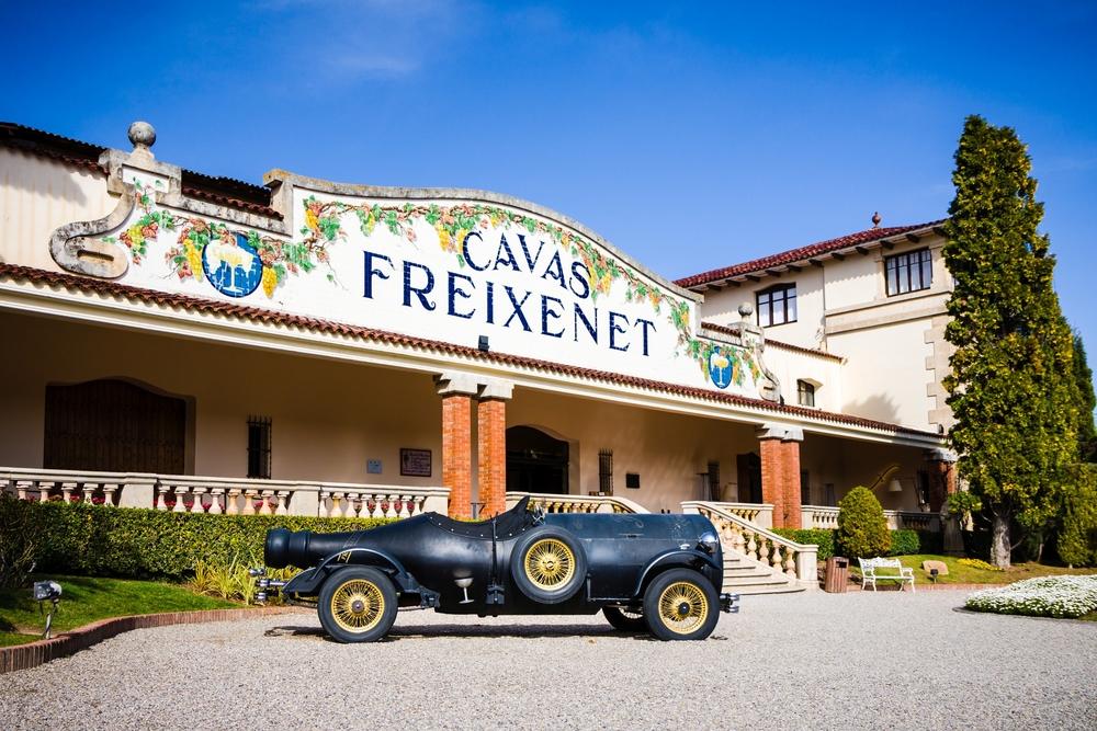 Die spanische Weinkellerei Freixenet produziert Cava