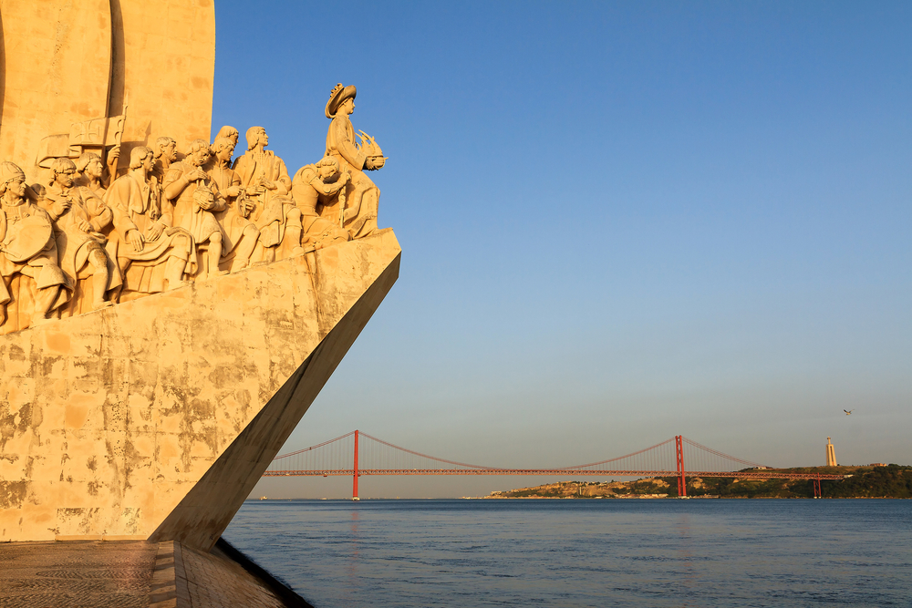 Lissabons Wahrzeichen, das Entdecker-Denkmal