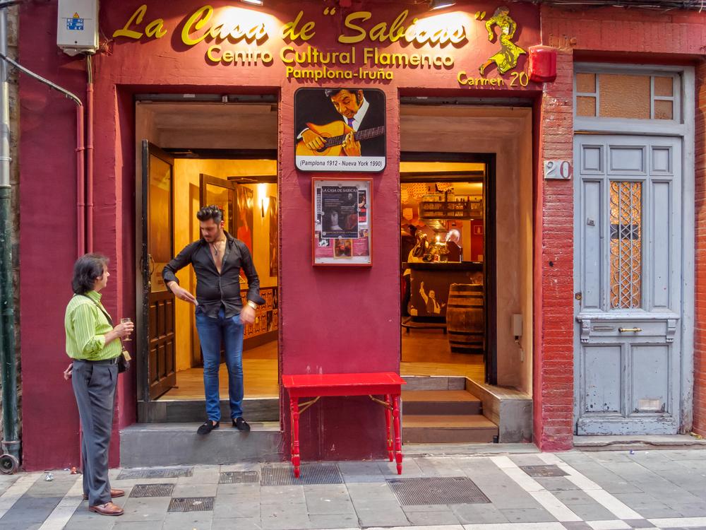 Flamenco-Café von außen