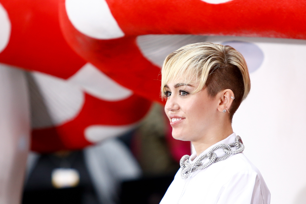 Sängerin Miley Cyrus in New York City