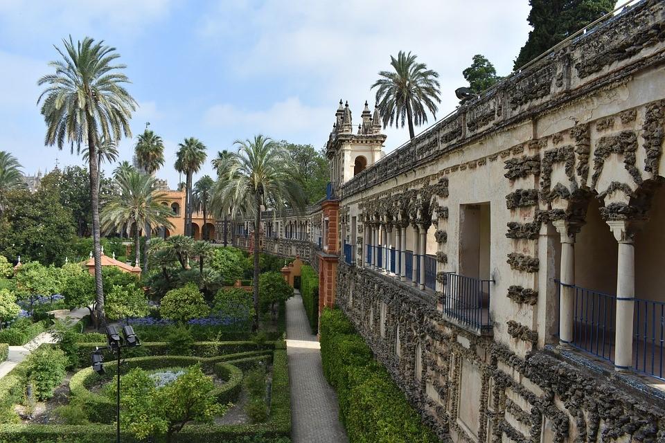 Der Königspalast Alcázar ist UNESCO Weltkulturerbe.