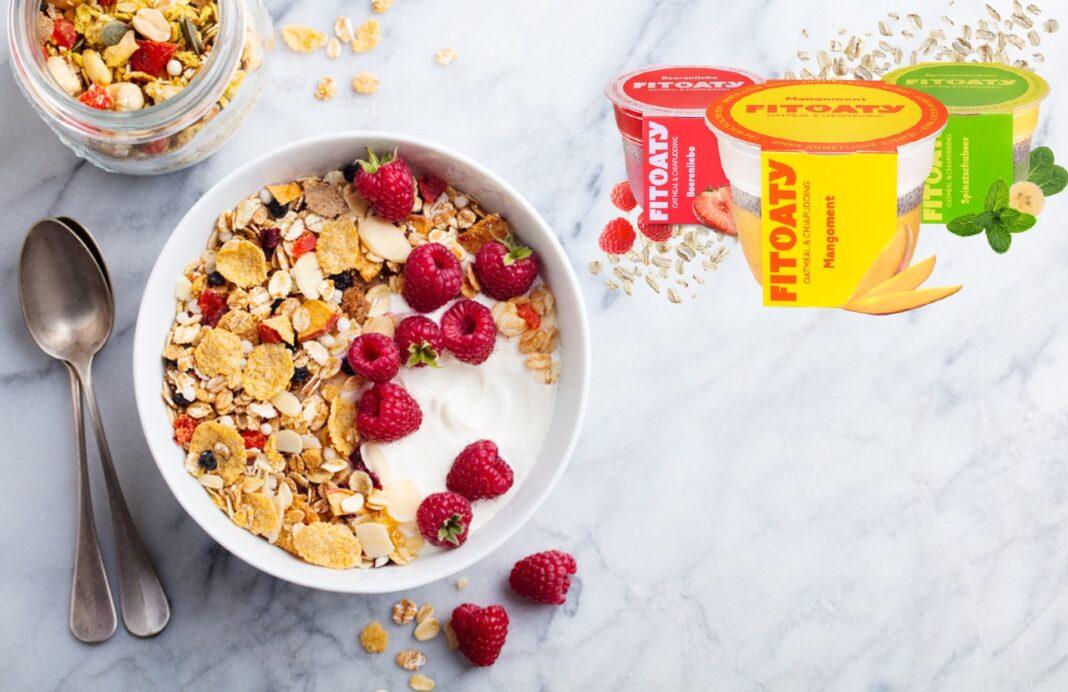 FitOaty - Gesunde und leckere Hafer Mahlzeit für Frühstück